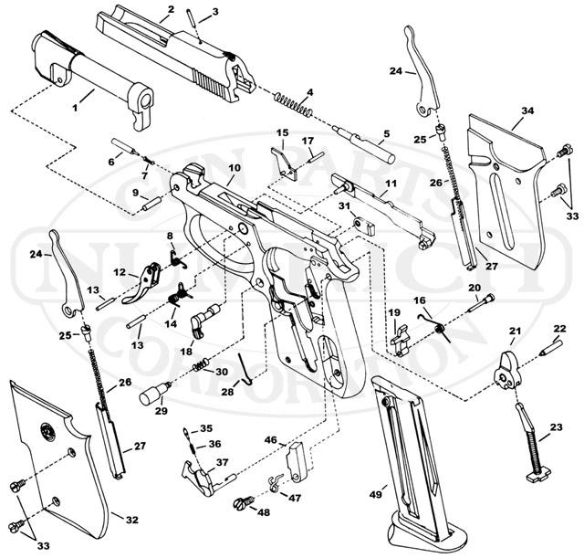taurus 25 acp schematic