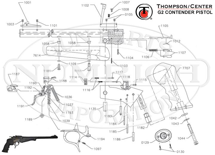 thompson contender schematic