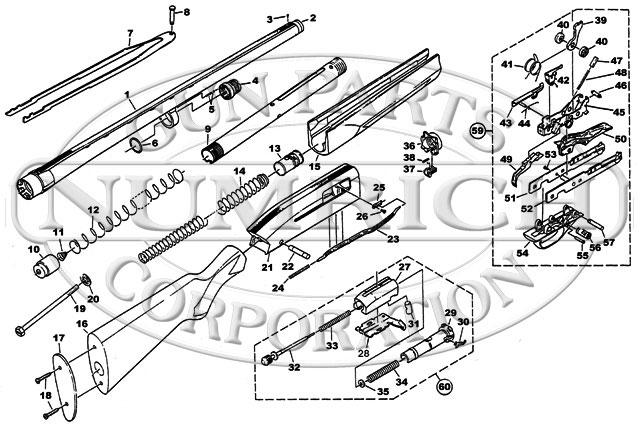 winchester 1400 schematic