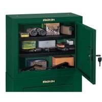 Stack-On GCG-900 Pistol/Ammo Cabinet w/ 2 Shelves - Hunter ...