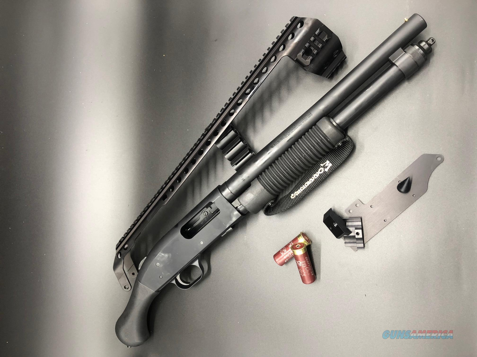 Mossberg 590 Shockwave W Black Aces Tactical Q For Sale