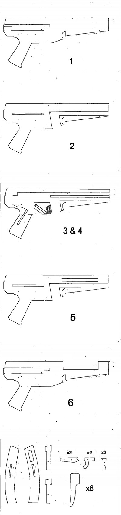 Watch This Working Cardboard MP5 Shoot Paper Bullets!