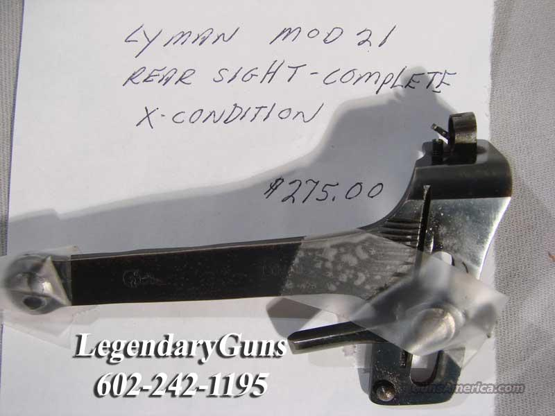 Lyman Model 21 Peep sight for sale