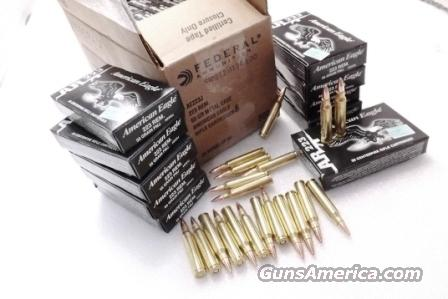 Ammo 223 Federal American Eagle Tactical 25 B For Sale