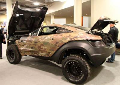 MultiCam Rally Fighter at the SHOT Show