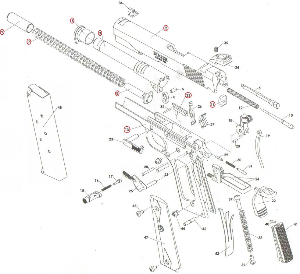 airsoft p90 wiring harness