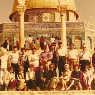 Ruth's 1983 Trip to Holy Land