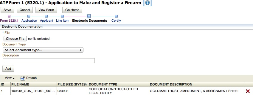Gun Trust and Submitting ATF Forms online \u2014 NFA Gun Trust Lawyer