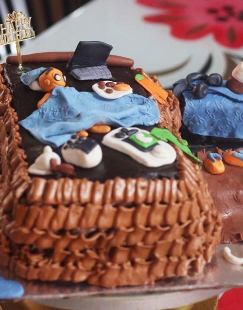 Medium Of Funny Birthday Cakes