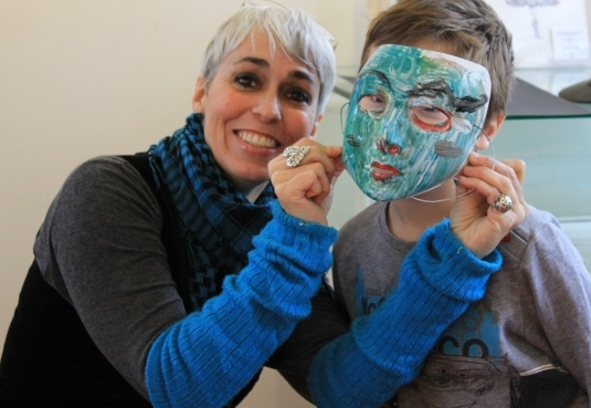 art and crafts workshops with artist P Gurgel-Segrillo, Cork