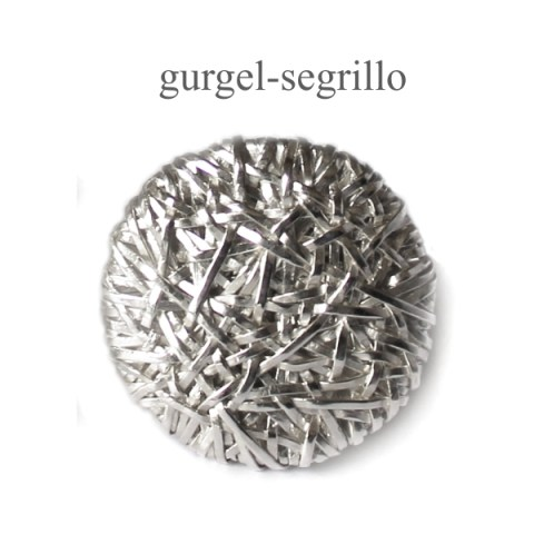 contemporary jewellery large woven silver RING