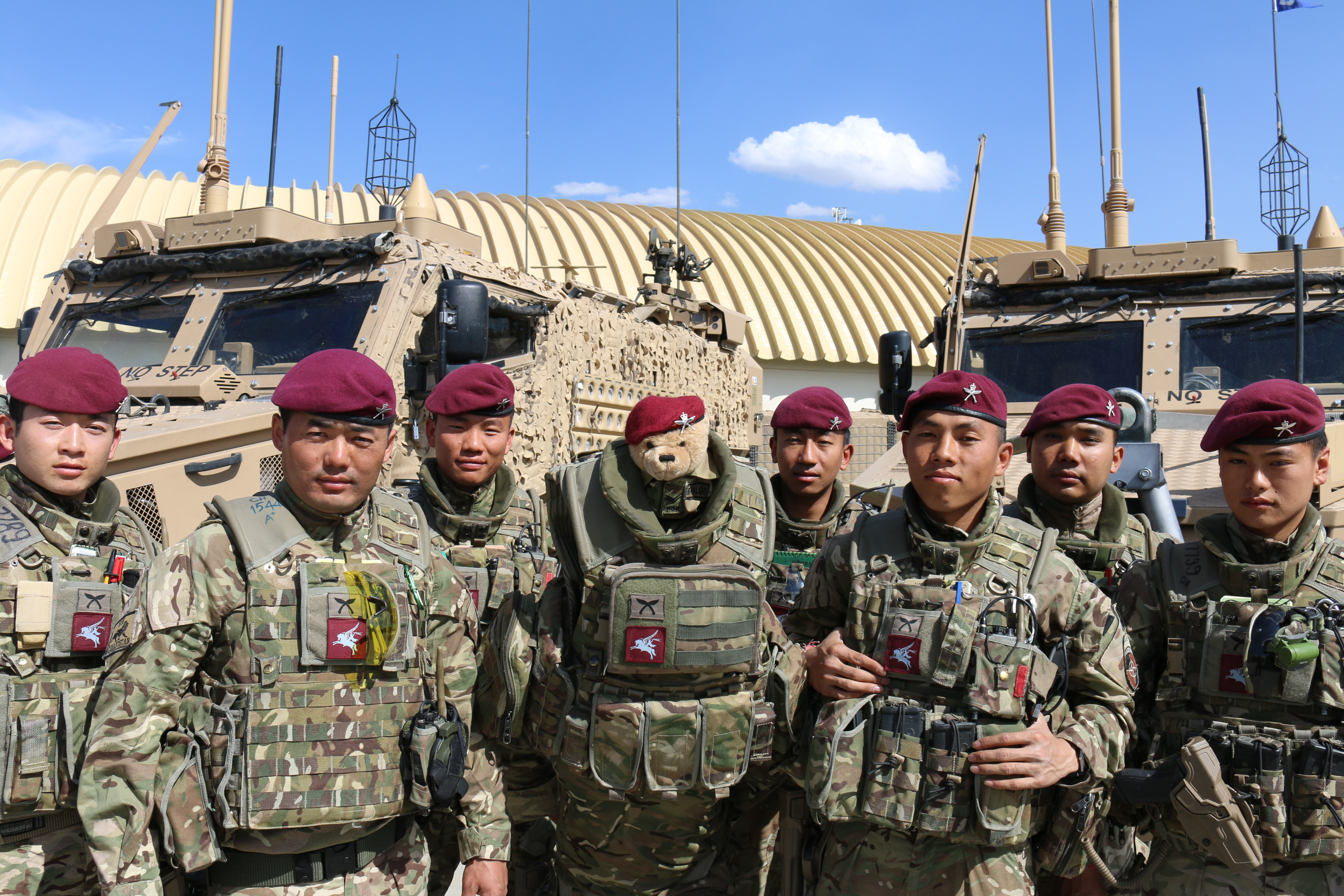 2 Rgr In Full Swing In Kabul Welcome To The Gurkha