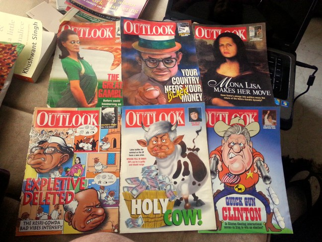 Outlook magazine Covers