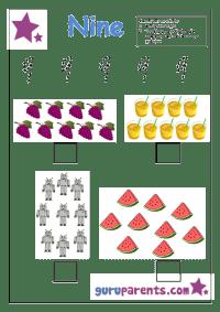 Preschool Number Activities | guruparents