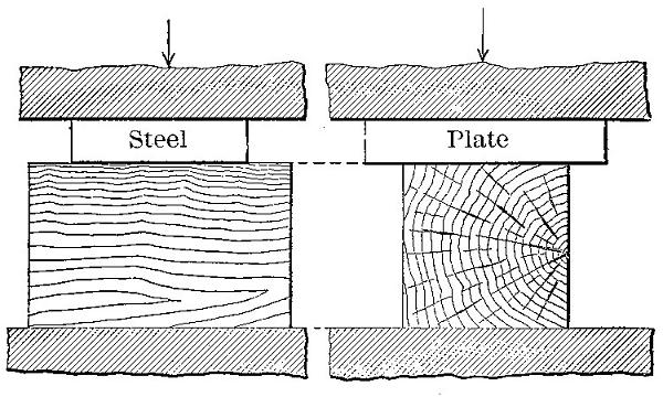The Project Gutenberg eBook of The Mechanical Properties of Wood, by