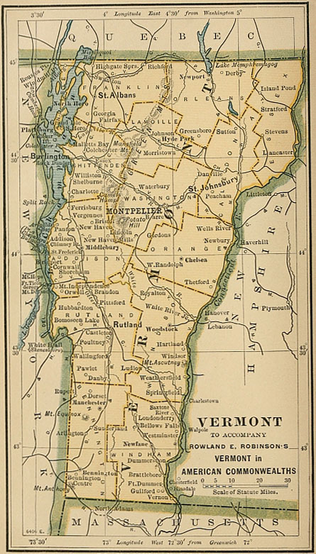 The Project Gutenberg eBook of Vermont, by Rowland E Robinson