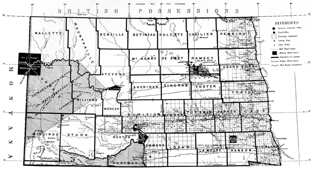 The Project Gutenberg eBook of North Dakota A Guide to the Northern