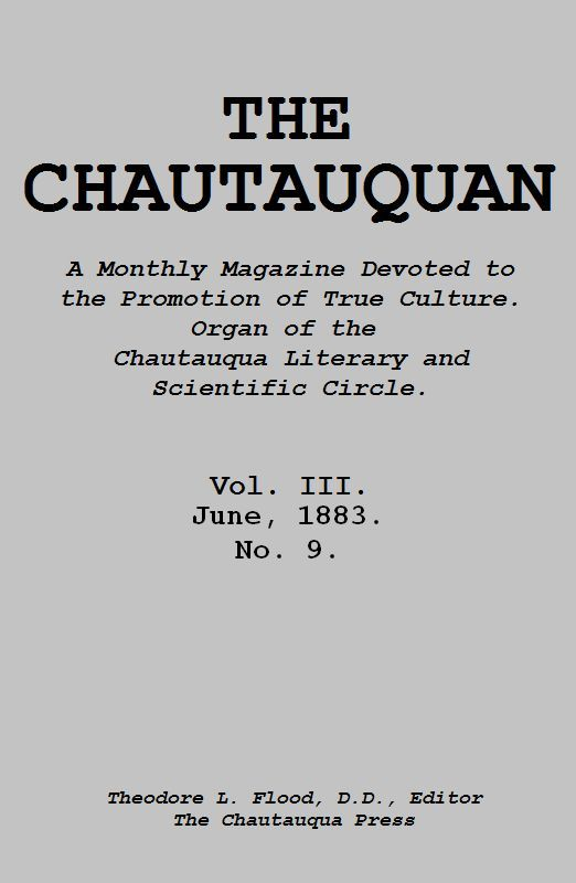 The Project Gutenberg eBook of The Chautauquan, June 1883, by
