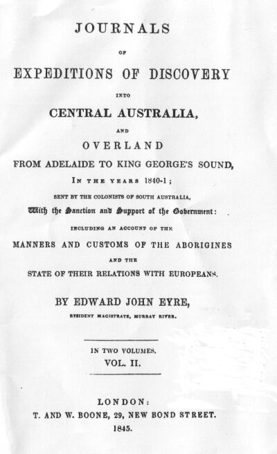Journals Of Expeditions Of Discovery Into Central Australia Volume 2
