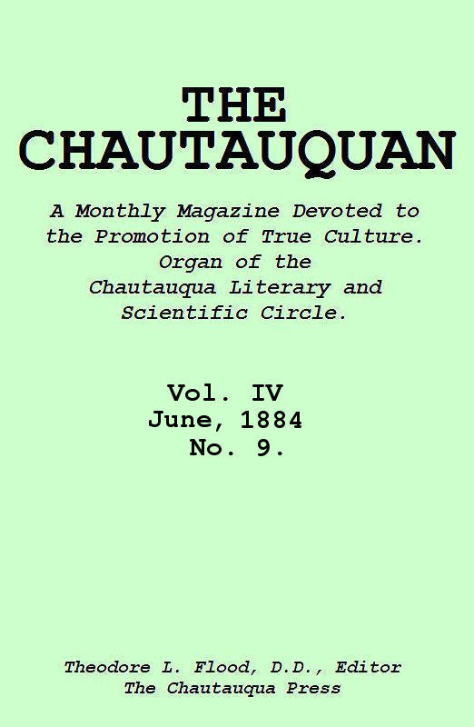 The Project Gutenberg eBook of The Chautauquan, Vol IV, June 1884