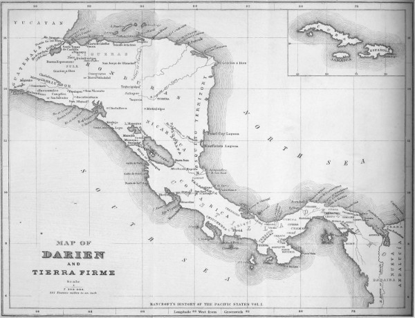 The Project Gutenberg eBook of History of Central America, Volume 1
