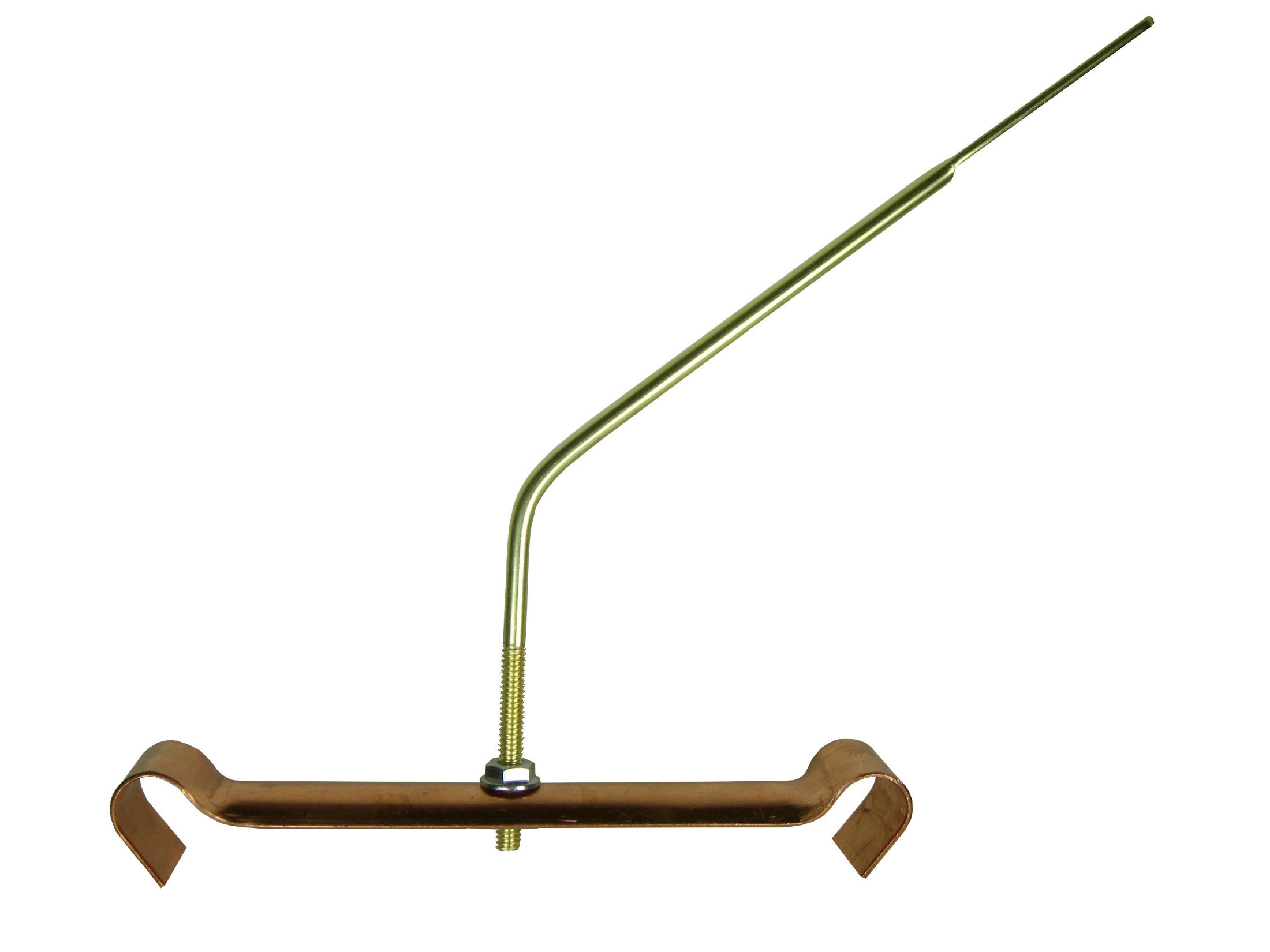Double Bead Bar Hanger With Rod Attached Gutter Hanger