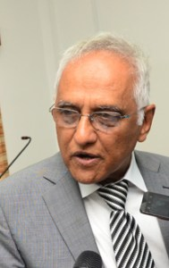 Guyana Bar Association  President Christopher Ram