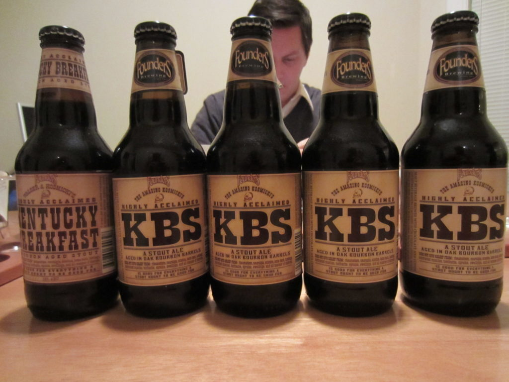 From The Cellar: Founders KBS 5 Year Vertical (2008-2012)