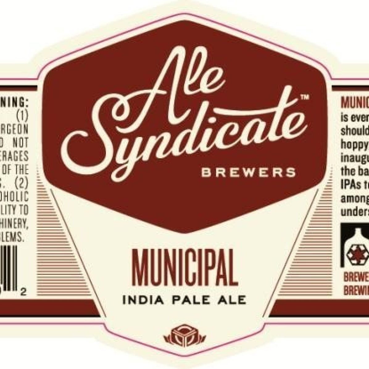 Ale Syndicate Municipal India Pale Ale