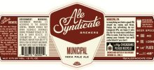 2/20 - Ale Syndicate Municipal India Pale Ale