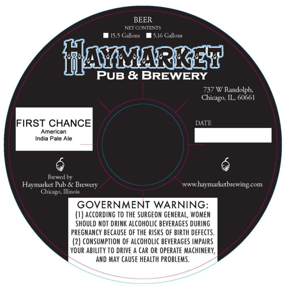 Haymarket First Chance