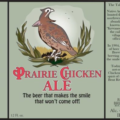 Bent River Prairie Chicken Ale