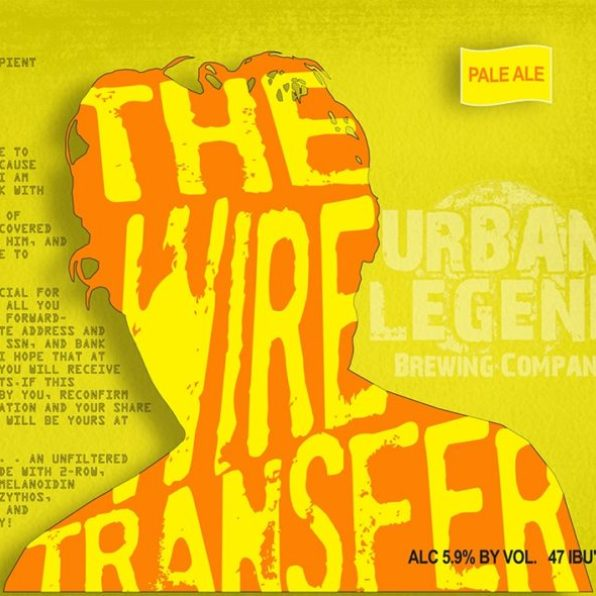 Urban Legend Wire Transfer Label