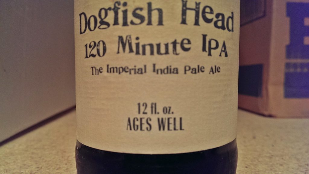 From the Cellar: Dogfish Head 120 Minute IPA