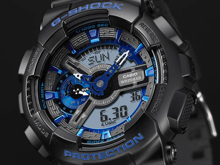 Review G Shock Cool Blue Color Series