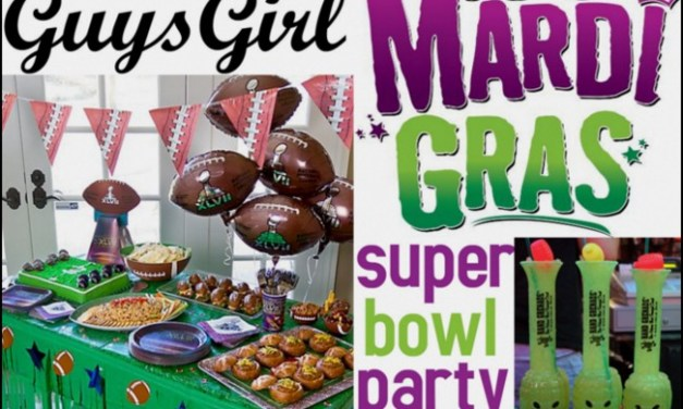Planning a Super Bowl Party: Mardi Gras Theme