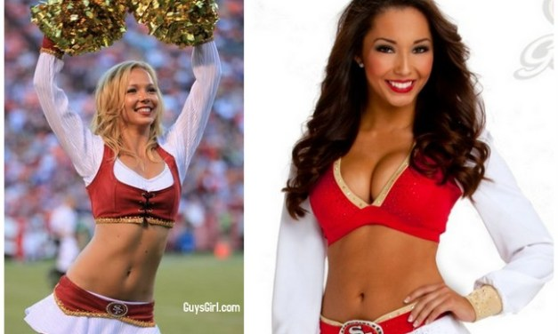 Superbowl Cheerleaders: 49ers Edition