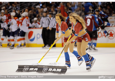 NHL ice girls debate