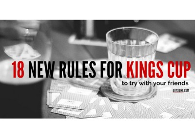 KINGS CUP NEW RULES
