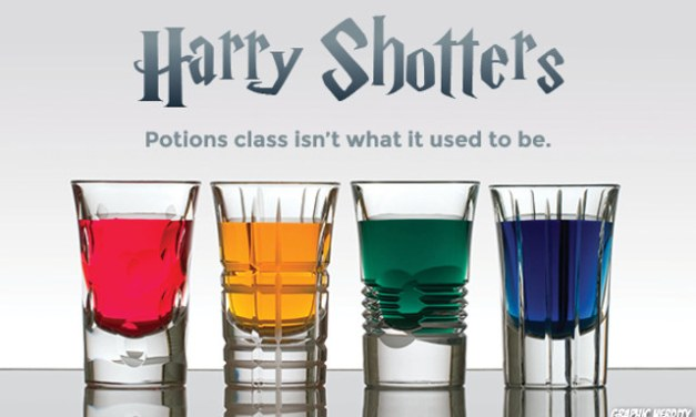 Harry Potter shots: Let's get Potterfaced!