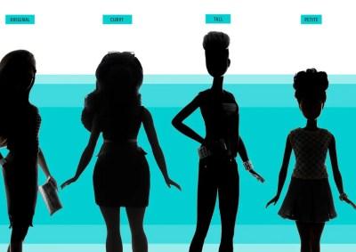 barbie new body doll