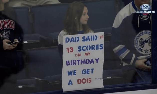 If you want a dog, look no further than Cam Atkinson