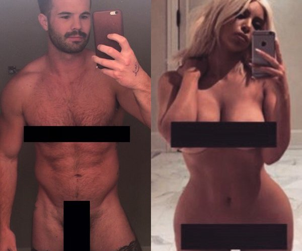 Simon Dunn Does A Kim Kardashian And We Have The Uncensored Pic Inside
