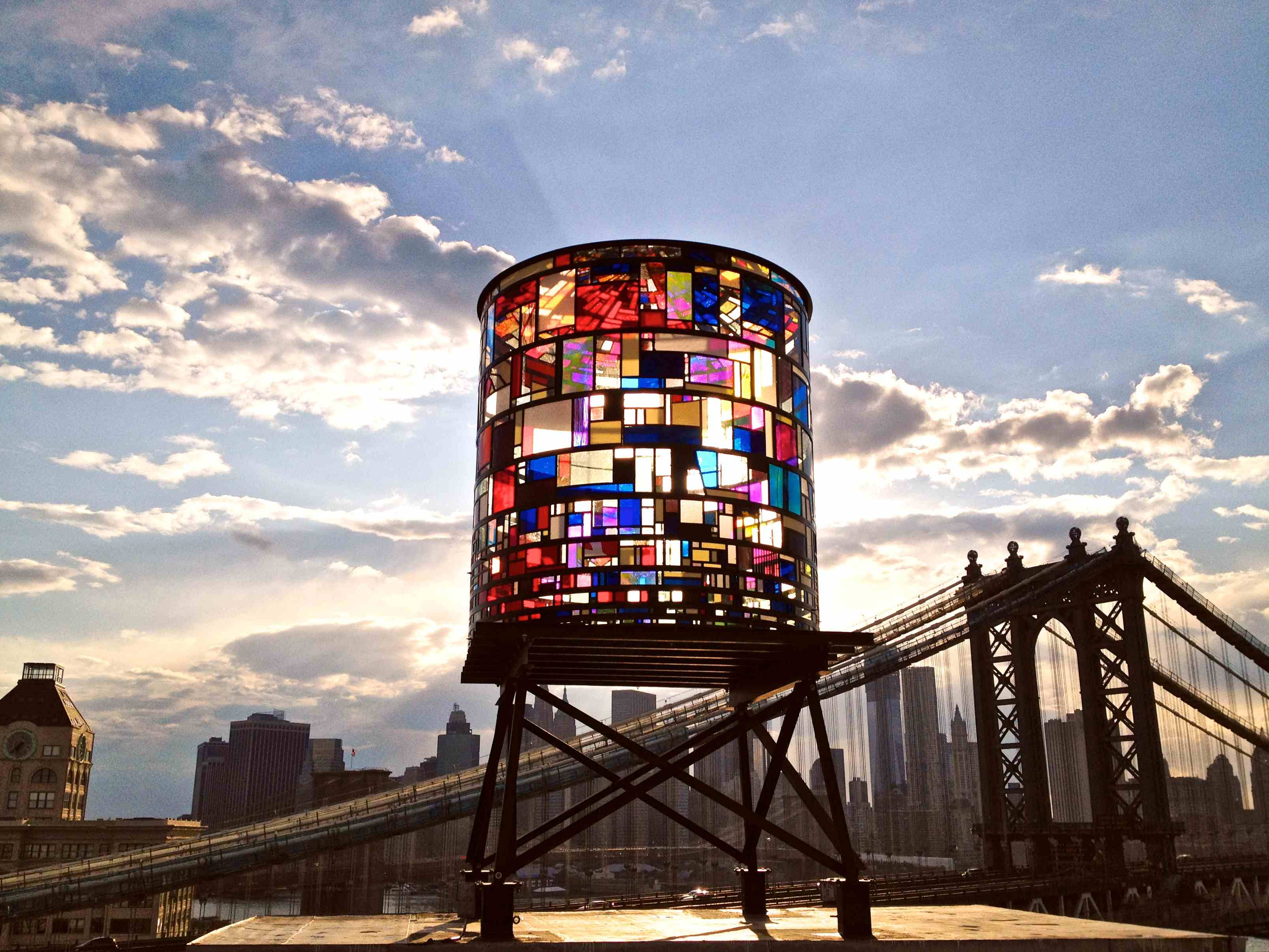 Artists Transform New York City39s Water Towers Into Works