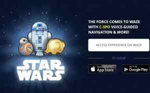 Kini C-3PO akan memandu Pengguna Waze