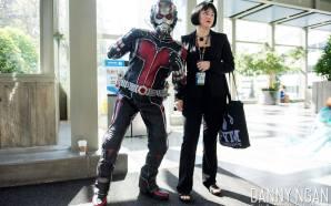Cosplay Ant-Man ini terlalu mirip aslinya