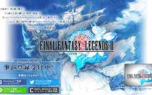 Game RPG Final Fantasy Dimensions II diungkapkan