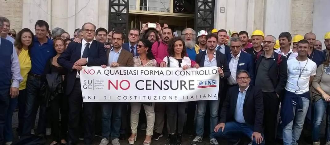 """Cessione La Città di Salerno, i collaboratori: """"Non siamo solo firme!"""""""