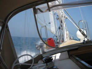 Photo: Tayana 37 Gyatso offshore on Black Sea. Credit: L. Borre.