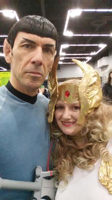 Shera with Spock